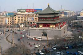 Pek – Xian – Shanghai